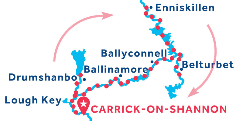 Carrick-on-Shannon RETURN via Enniskillen