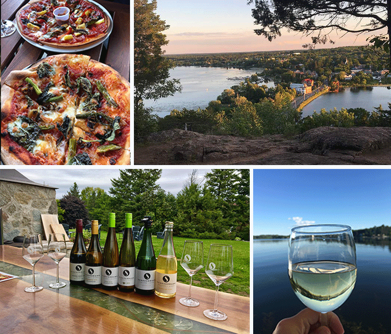 Spy Rock and the winery in Westport are romantic spots to spend some time together
