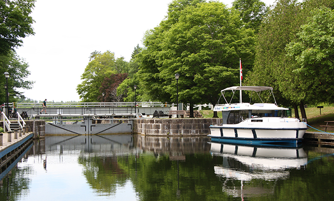 Escape the Crowds with Le Boat on the Rideau Canal in Canada