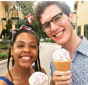 Get delicious ice cream at the Opinicon on the Rideau.