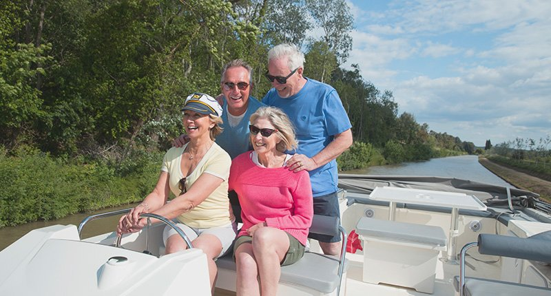 Cruising on the Canal du Midi