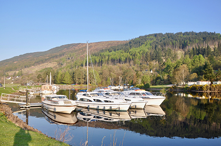Le Boat Laggan Base