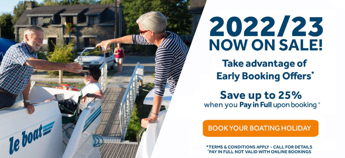 Book Early for 2022 or 2023 holidays and save with our Early Booking Discounts