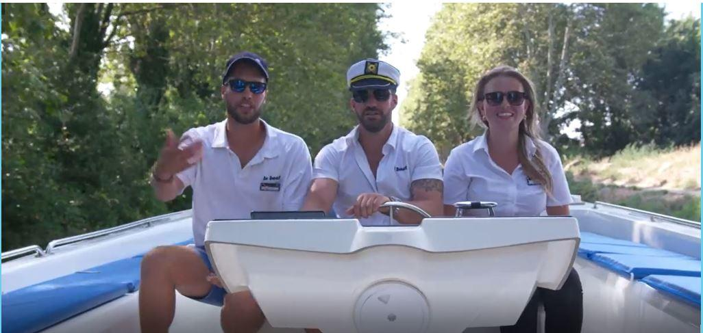 Johnny Bananas and 1st Look on the Canal du Midi with Le Boat