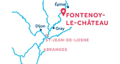 Fontenoy-le-Chateau base location map