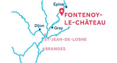 Fontenoy-le-Chateau base location map