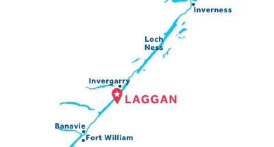Laggan base location map