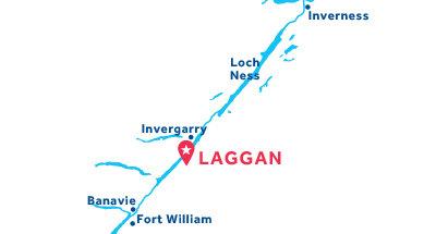 Laggan base location map