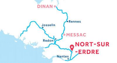 Nort-sur-Edre base location map