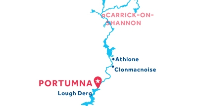 Portumna base location map