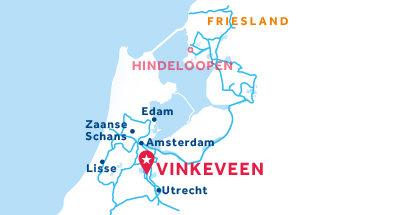 Vinkeveen base location map