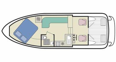 Town Star deckplan