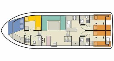 Classique Star deckplan