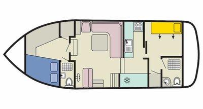 Corvette B deckplan