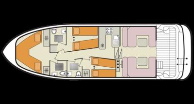 Elegance deckplan