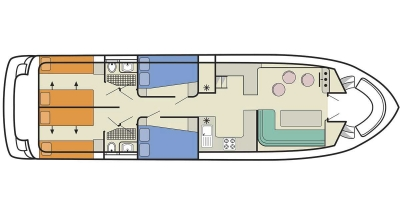 Salsa A deckplan
