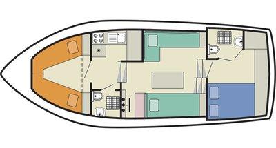 Tamaris deckplan