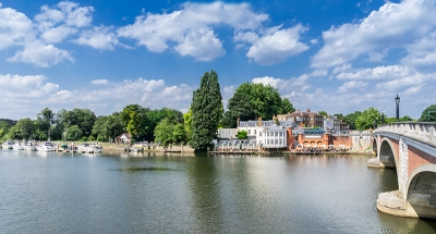 The River Thames in sunshine