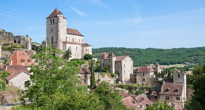 Saint-Cirq Lapopie, one of the most beautiful villages in France