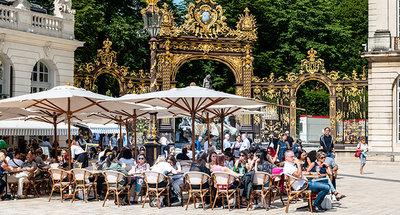 Al Fresco dining in Nancy