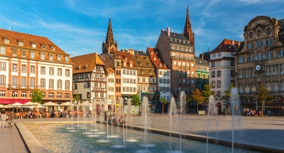 Strasbourg town square