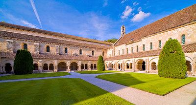 Fontenay Abbey in Montbard