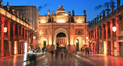 Place Stanislas at night, Nancy