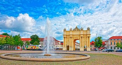 Potsdam town square