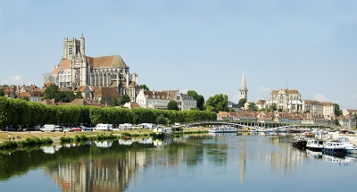 The beautiful Roman city of Auxerre