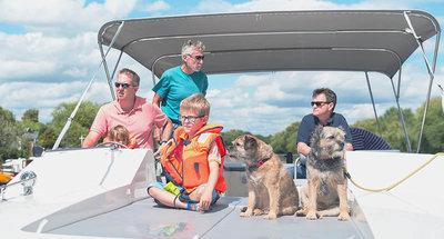 Family cruising