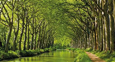 Canal du midi waterways