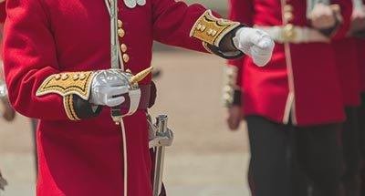 British guard soldier