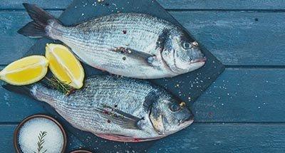 Fish and Lemon segments