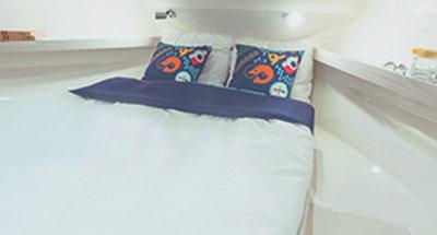 Horizon 2-S cabins & bathrooms