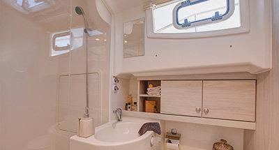 Horizon 4 cabins and bathrooms