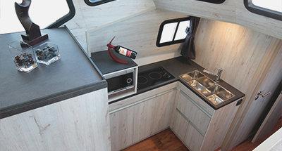 Minuetto 8+ kitchen