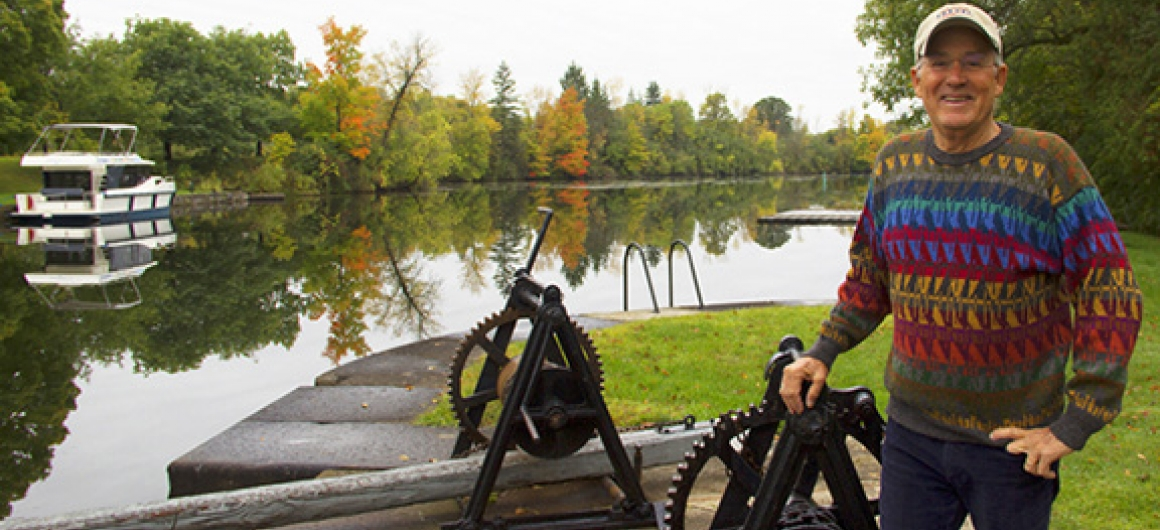 Joseph Rosendo's TravelScope on PBS travels the UNESCO Rideau Canal in Canada
