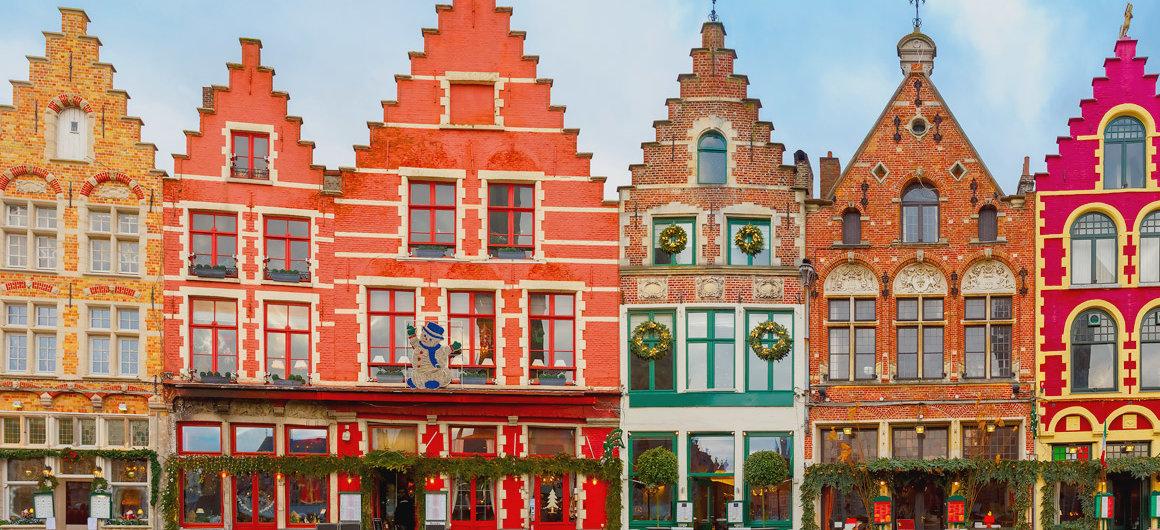 Colourful Bruges