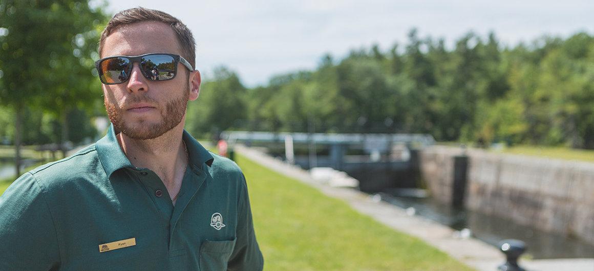 Parks Canada lock keeper, Canada