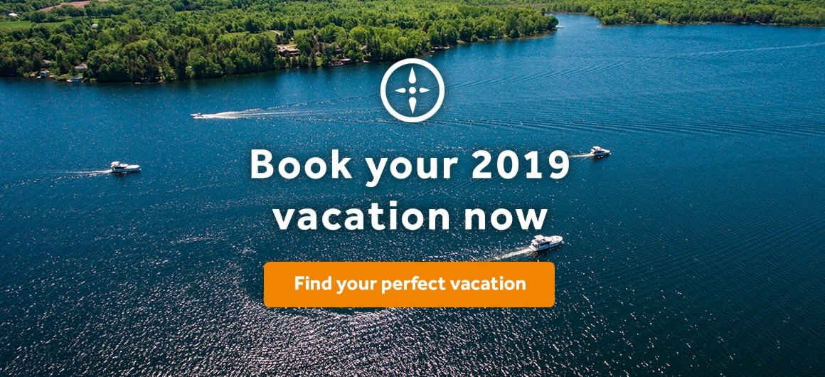 Book your 2019 vacation