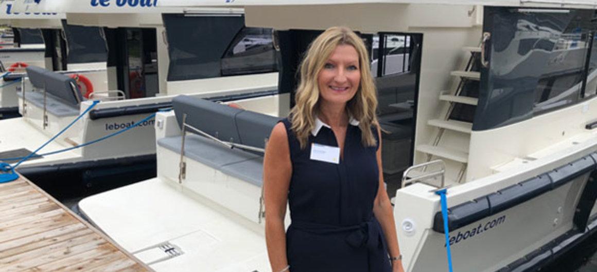 Cheryl Brown, Managing Director Le Boat