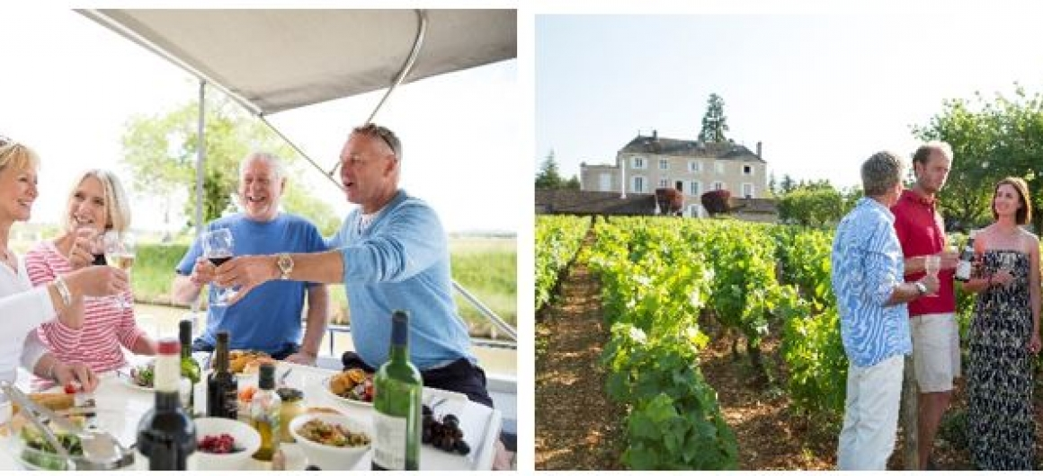 Enjoy wine tasting in the Burgundy Region in France with Le Boat