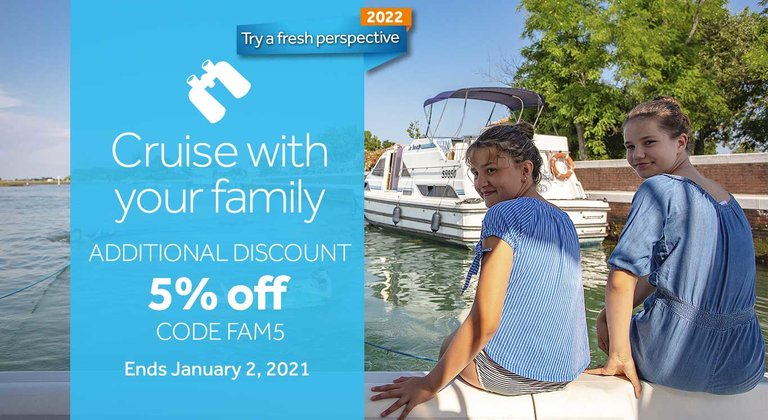 Family offer: 5% additional discount