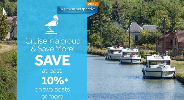 Save 10% with two boats