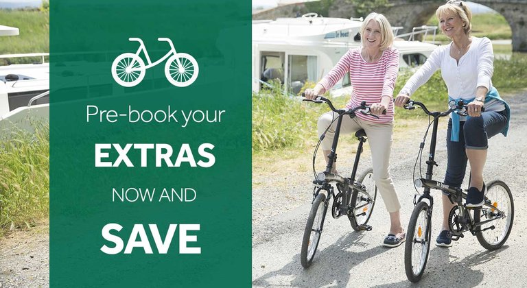 Pre-book your holiday extras and save