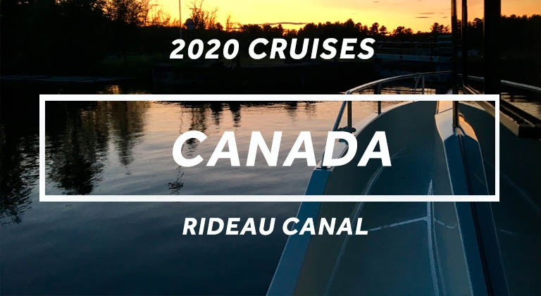 Cruise the Rideau Canal in Canada on a Horizon Cruiser in 2020