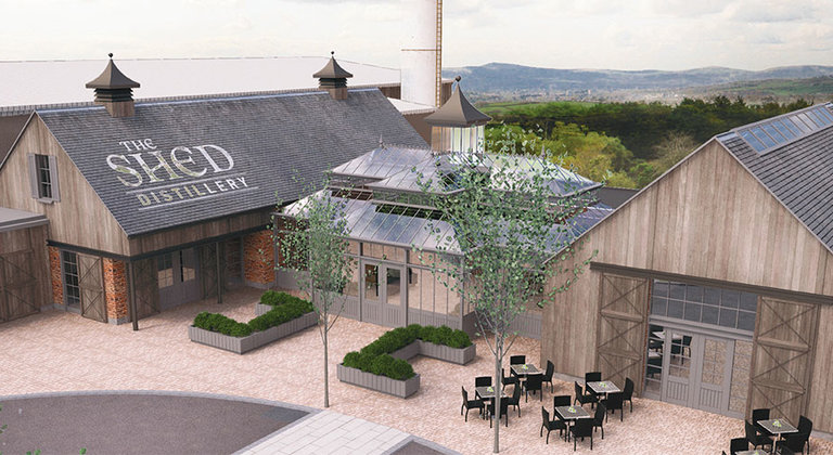 Le Boat - Ireland Partner - The Shed Distillery