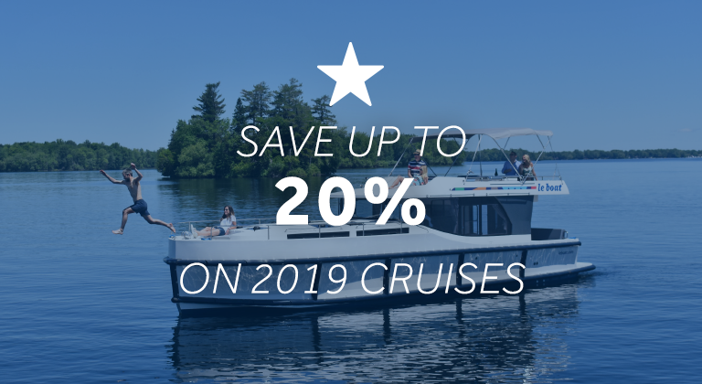 Save up to 20% on your 2019 cruise vacation