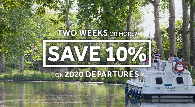 Le Boat - Multiple week discount