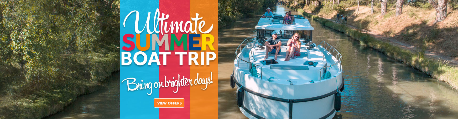 Enjoy the Ultimate Summer Boat Trip with Le Boat
